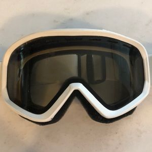 Scott ski goggles-white